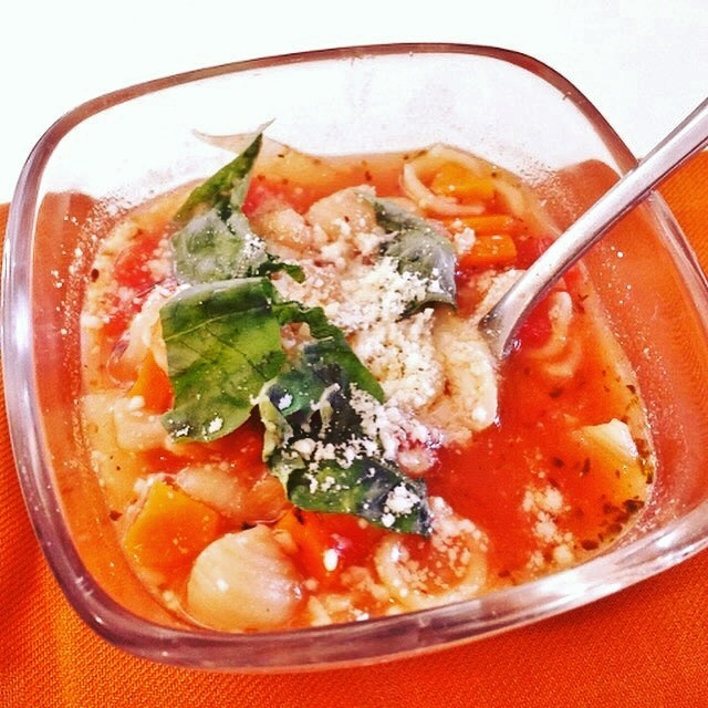 20-Minute Minestrone – Recipe! Image 1