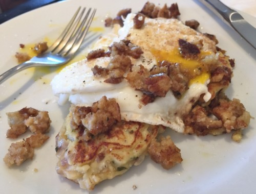 Potato Pancake Stacks – Recipe!  Thanksgiving Leftover Recipes!