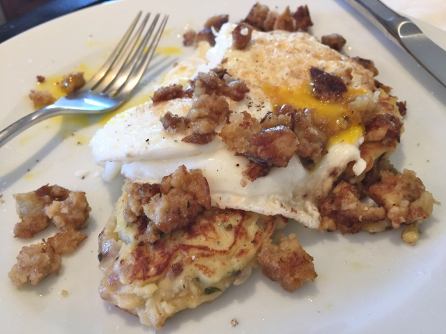 Potato Pancake Stacks – Recipe!  Thanksgiving Leftover Recipes! Image 1