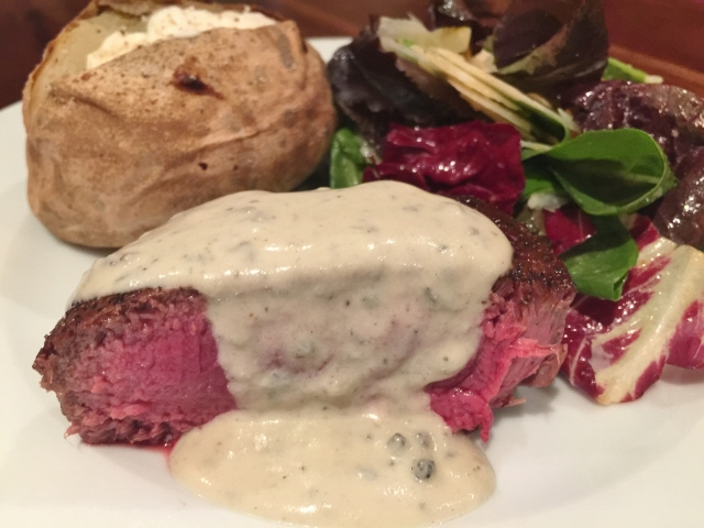 Seared Filets of Beef with Gorgonzola Cream – Recipe! Image 1