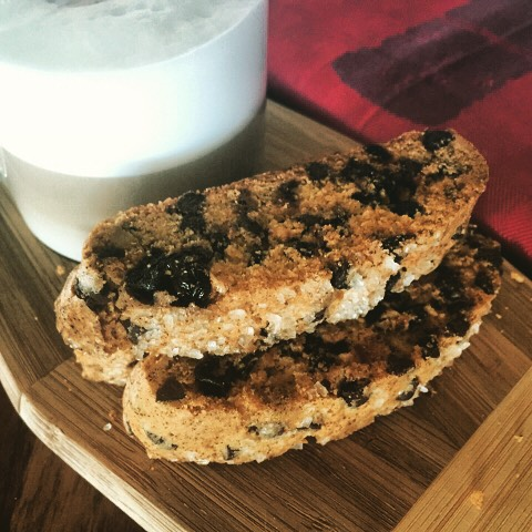 Holiday Biscotti Recipe! Great combo of pistachios dried cherries andhellip