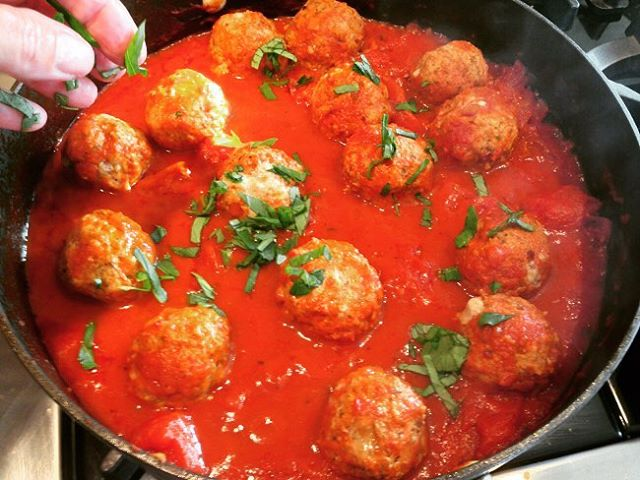 Turkey amp Mushroom Meatballs Recipe!! Comfort Food at its Best!hellip