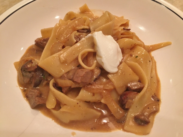 Easy Beef Stroganoff – Recipe!  Great to Make with Leftover Beef! Image 1