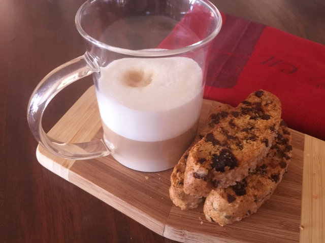 Holiday Biscotti – Recipe!  Great Combination of Dried Cherries, Pistachios & Chocolate! Image 1