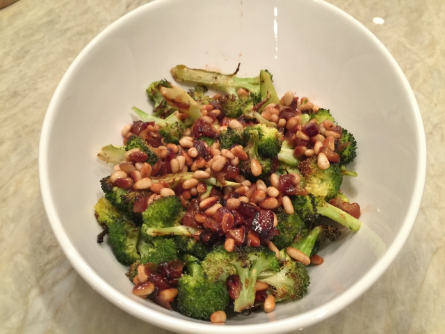 Roasted Broccoli with Pine Nuts & Dates 030 (640x480)