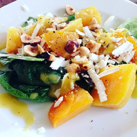 Golden Beets Ricotta Salata amp Hazelnut Salad Recipe! Lighten uphellip
