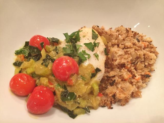Easy Coconut Curry Sea Bass – Recipe!  Whole30 Recipe! Image 1