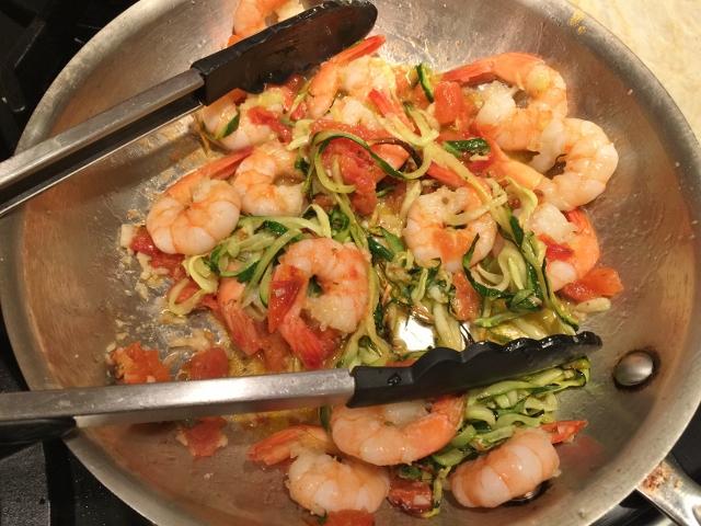 Garlic Shrimp & Zoodles Linguini 040 (640x480)