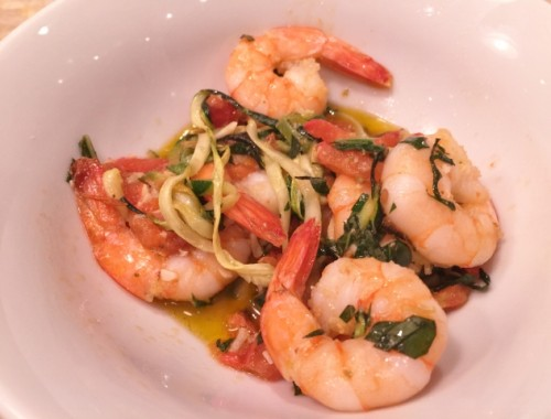 Garlic Shrimp & Linguine Zoodles – Recipe! Whole30, Paleo & Low-Carb Friendly!