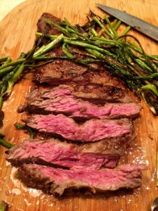Broiled Teriyaki Flank Steak & Asparagus 075 (480x640)