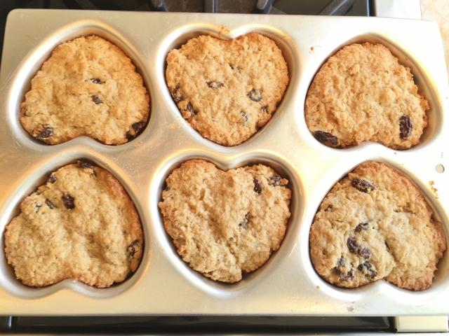 Gluten-Free Oatmeal Raisin Cookies 036 (640x480)