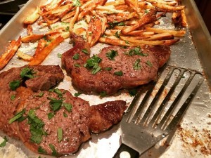 Who Doesnt Steak Frites?! Heres my recipe cooked on ahellip