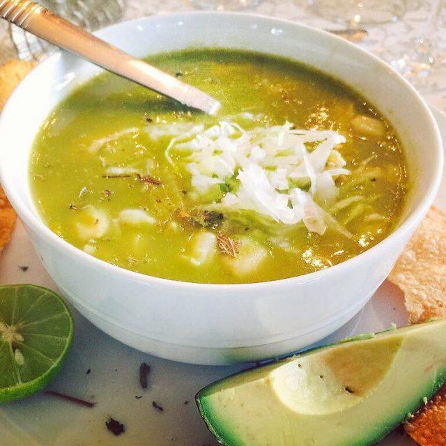 Best Pozole Verde I have ever tasted!! Vivian Padilla Garciahellip