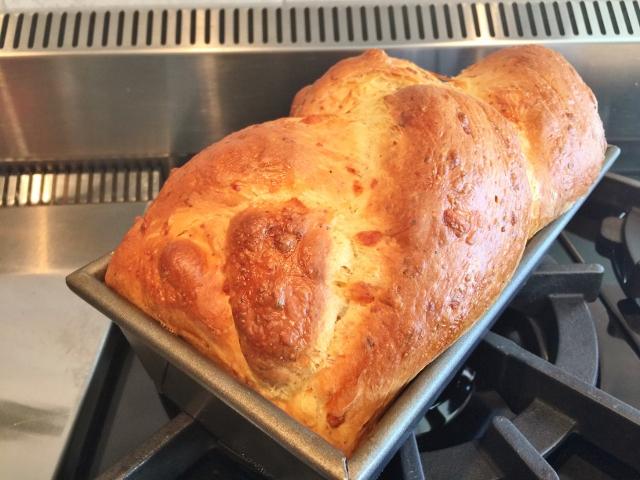 Italian Easter Cheese Bread Crescia Al Formaggio