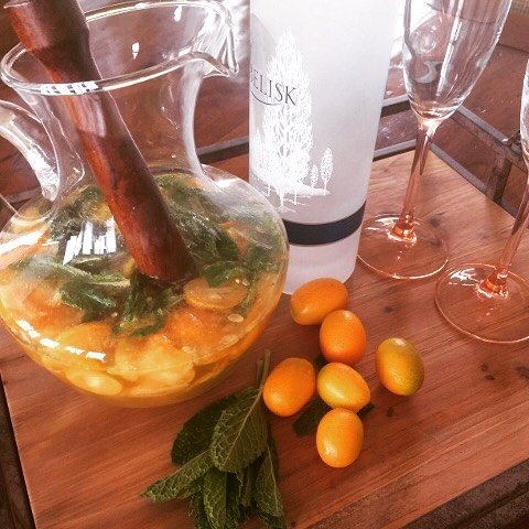 Kumquat Vodka Mojitos! Lets Get This Weekend Started Right!! wwwgenabellcomhellip