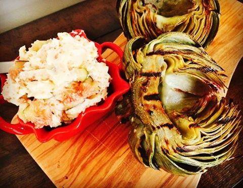Figs are everywhere! Try this recipe for Grilled Artichoke withhellip