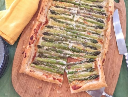 Asparagus & Gorgonzola Cream Tart – Recipe!