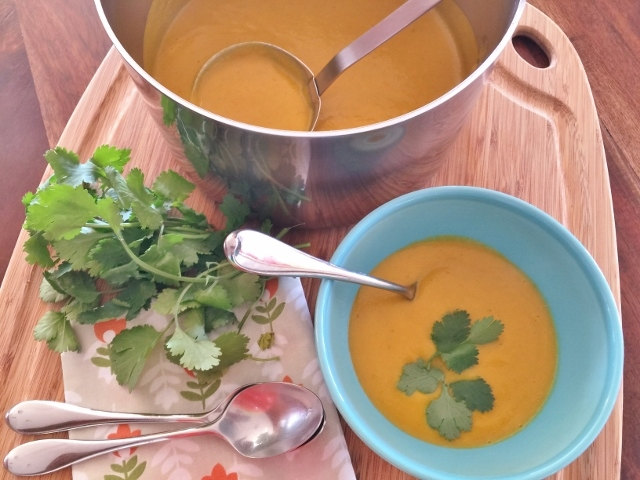 Carrot Coconut Curry Soup – Recipe! Image 2