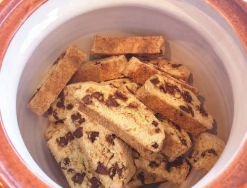 Chocolate Chip Orange Almond Biscotti – Recipe!