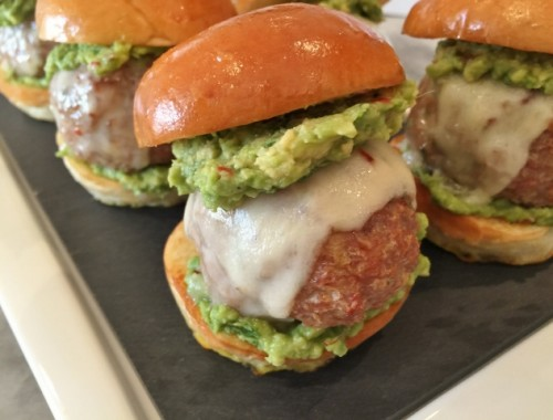 Mexican Turkey Meatball Sliders – Recipe!