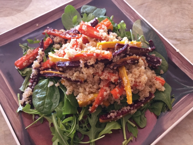 Roasted Carrot & Quinoa Salad 041 (640x480)