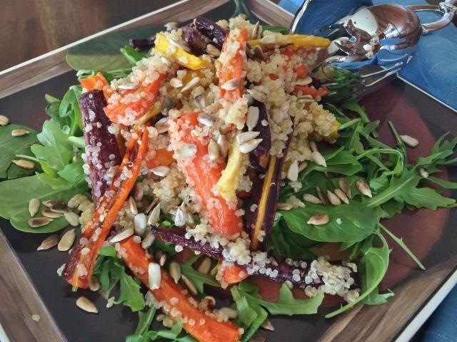 Roasted Rainbow Carrot & Quinoa Salad – Recipe! Image 2