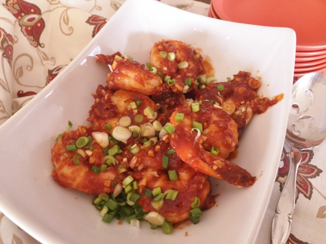 Sweet & Spicy Chili Shrimp – Recipe!  10-Minute Meals! Image 1
