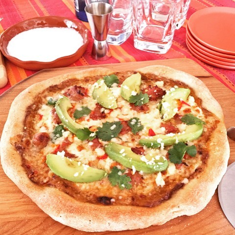 Mexican Pizza Recipe! Getting Ready for Cinco de Mayo?? Tryhellip
