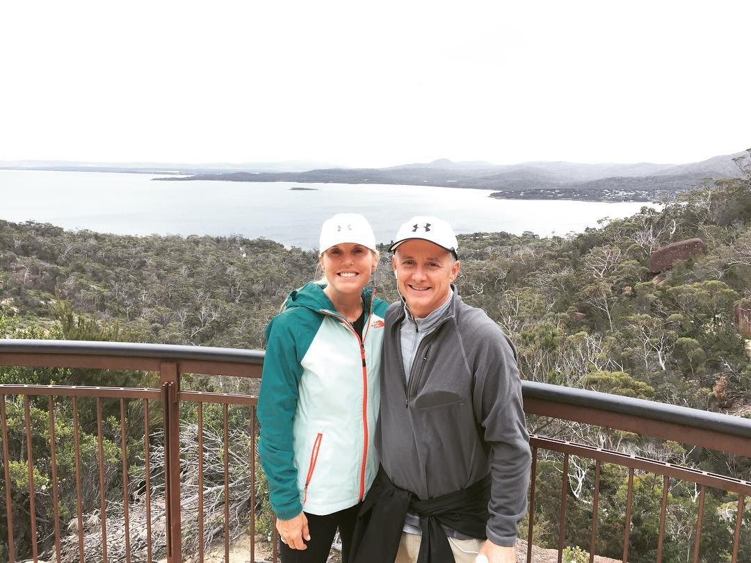 Enjoying our hike around Freycinet National Park and Coles Bay!hellip