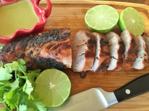 Grilled Pork Tenderloin with Green Curry Sauce 122 (640x480)