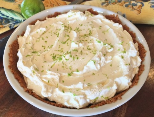 Easy Key Lime Pie with Mascarpone Whipped Cream – Recipe!