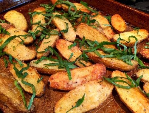 Parmesan-Basil Fingerlings – Recipe!