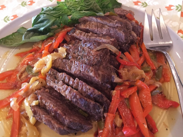 Slow Cooker Italian Brisket with Sweet & Spicy Peppers – Recipe! Image 1