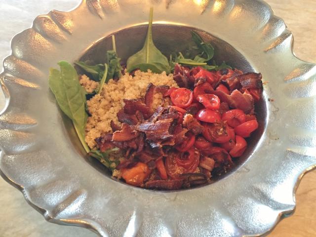 Bacon, Lettuce, Charred Tomato & Quinoa Salad 039 (640x480)