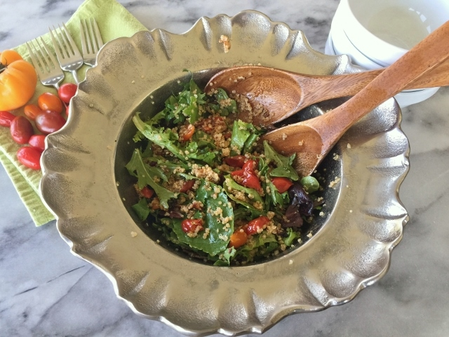 Bacon, Lettuce, Charred Tomato & Quinoa Salad – Recipe! Image 2