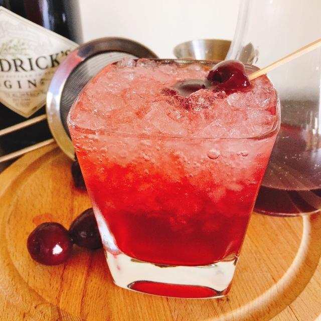 Cherry Gin & Tonics!  So Refreshing! Image 1