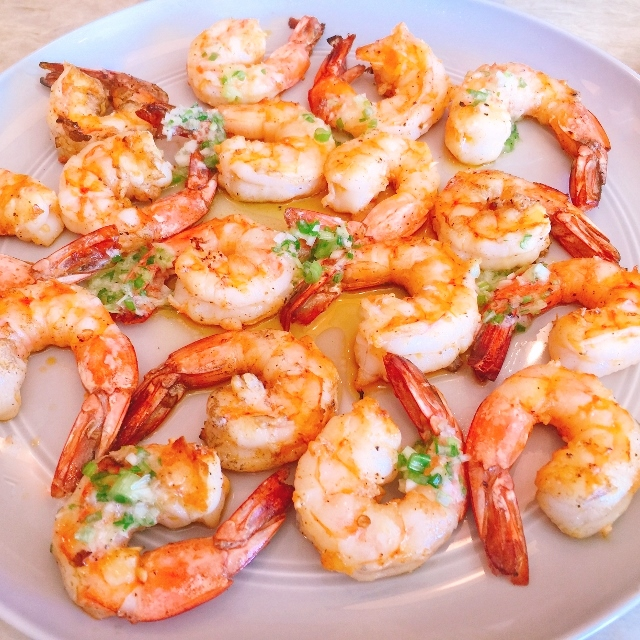 Grilled Garlic Shrimp with Scallion Butter – Recipe! Image 2