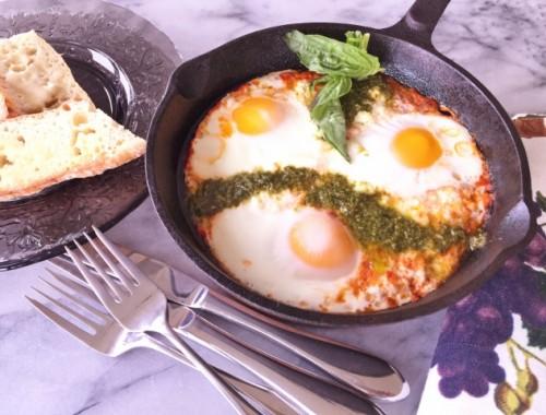 Italian Shakshuka – Recipe!  Great for Brunch or Dinner!