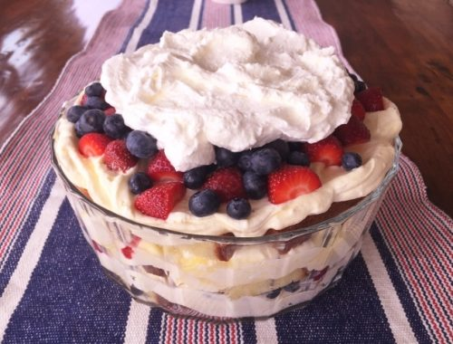 Limoncello Summer Berry Trifle – Recipe!