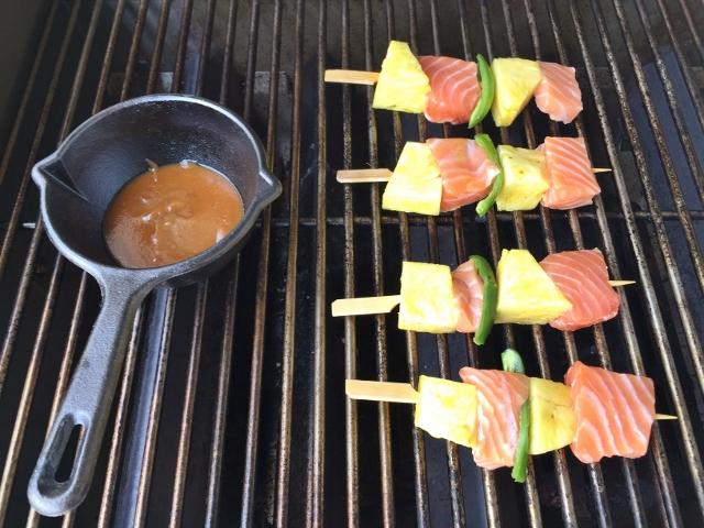Salmon, Pinapple & Jalapeno Kebabs with Honey Miso Glaze 034 (640x480)