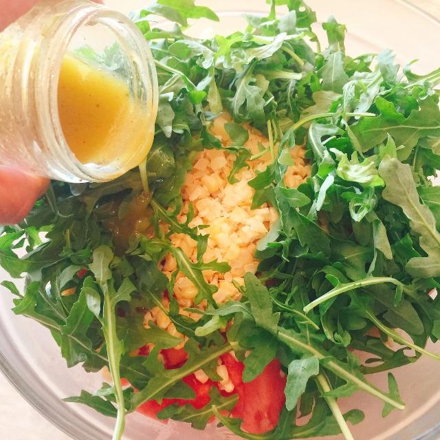 Watermelon, Grilled Corn & Heirloom Tomato Salad 019 (640x640)