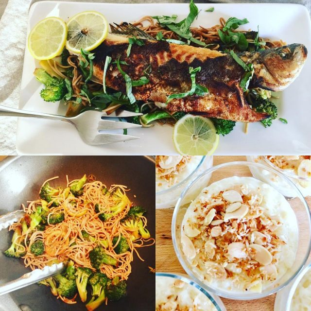 Social Sundays Menu  Wok Seared Sea Bass with Gingerhellip