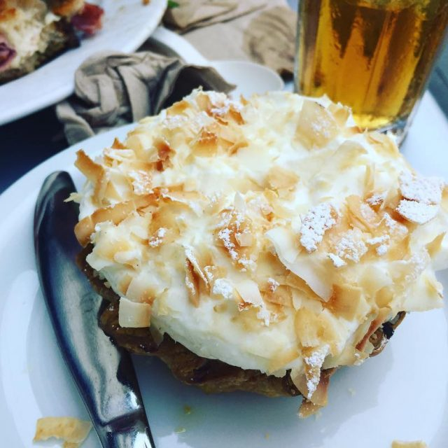 Coconut Cream Tart  Tartine Bakery San Francisco! livelovelaughfood tartinebakerysfhellip