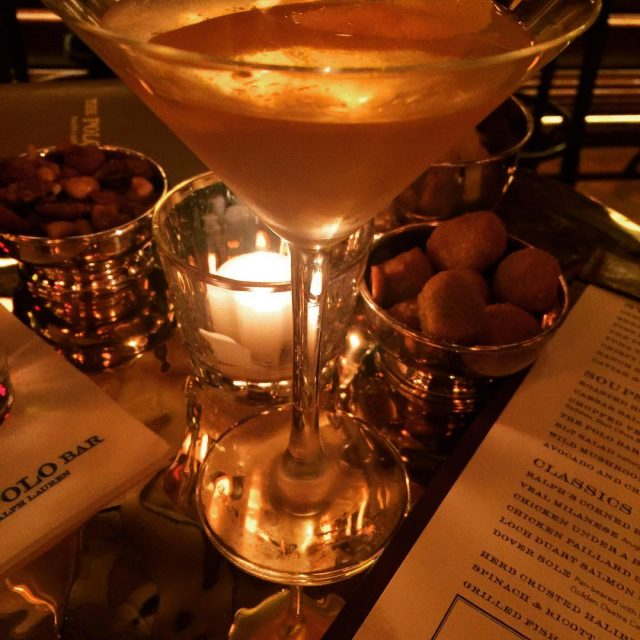 The Polo Bar by Ralph Lauren  Vesper Martini withhellip