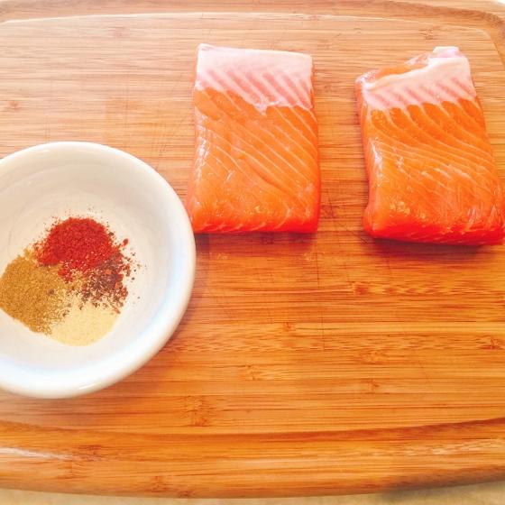 Grilled Argetinian Salmon with Peanut Cilantro Sauce 013 (560x560)