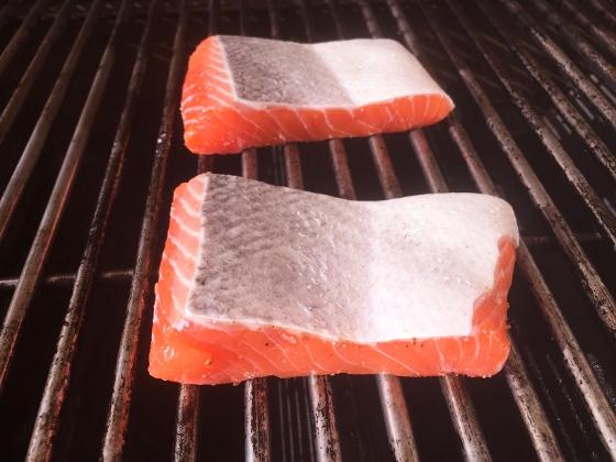 Grilled Argetinian Salmon with Peanut Cilantro Sauce 024 (560x420)