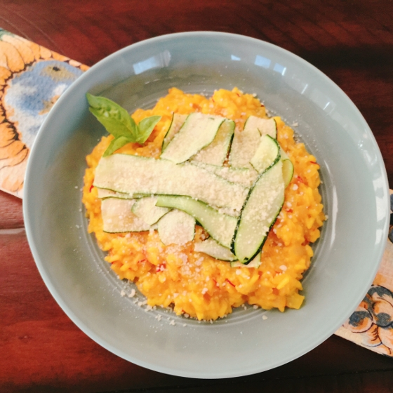 Risotto Milanese with Shaved Zucchini 080 (560x560)