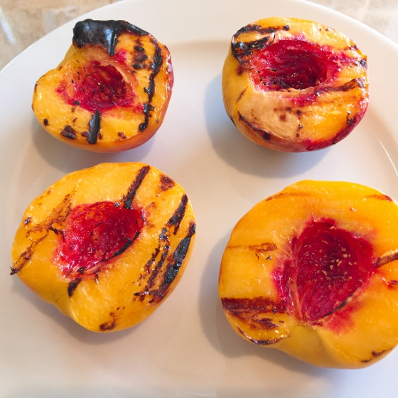 Watermelon & Grilled Peach Salad with Balsamic Drizzle 025 (560x560)