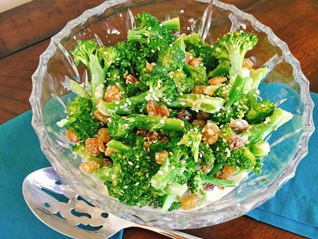 Broccoli you say? Try this recipe for Broccoli Salad withhellip