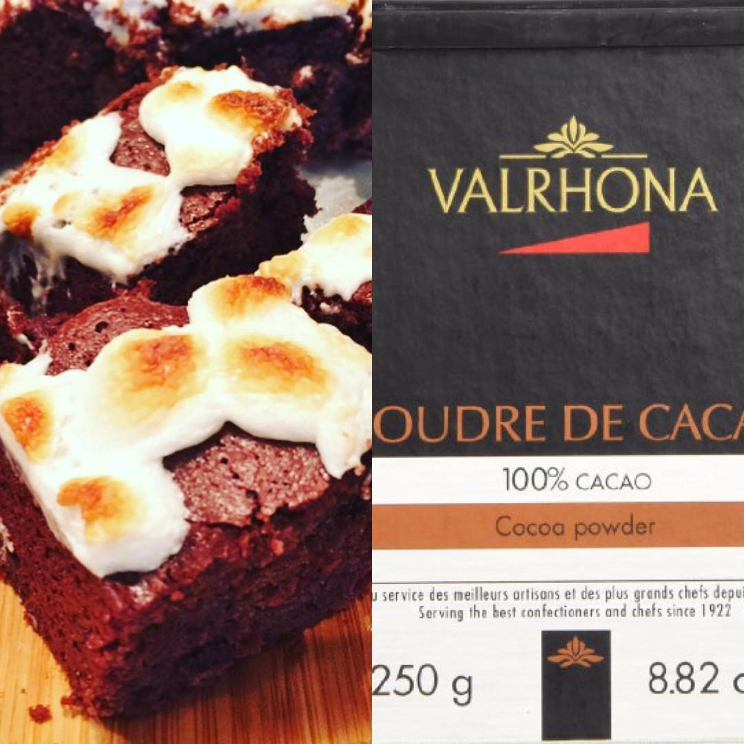 One of my Favorite things  Valrhona 100Cocoa Powder! Bakeshellip